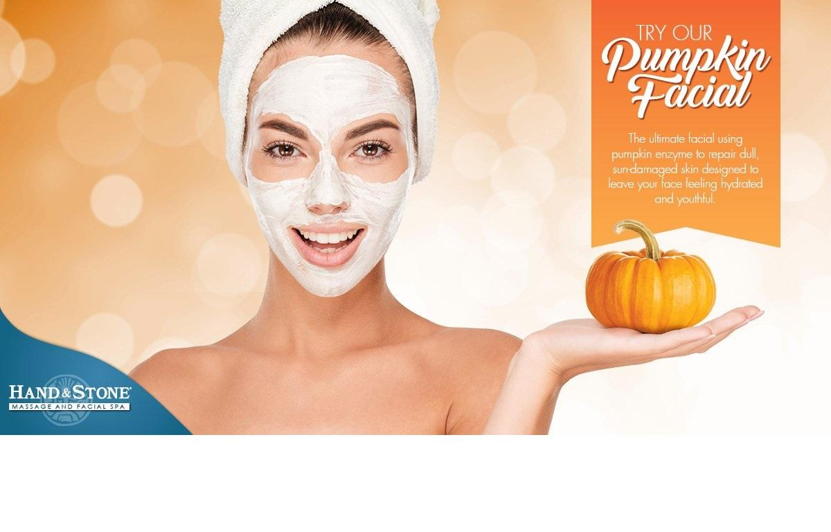 Seasonal Special: Pumpkin Facial
