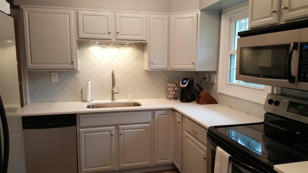 After Kitchen Makeover - Richmond VA