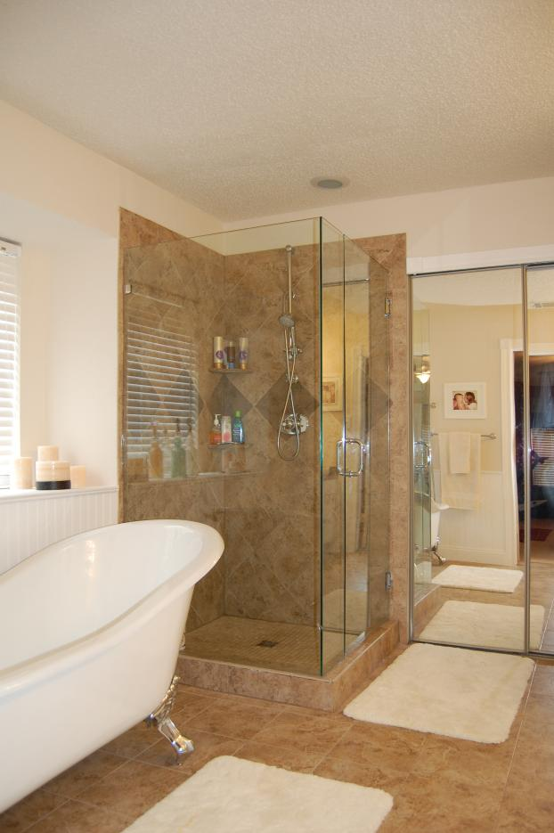 Traditional Shower in Allen TX - After