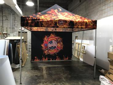 Tent for Bakers Fire Department
