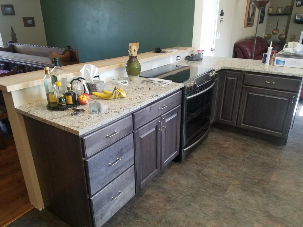 Finished Countertop Installation Littleton CO 80123
