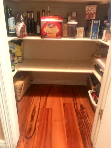 After pantry shelf repair in Littleton, CO