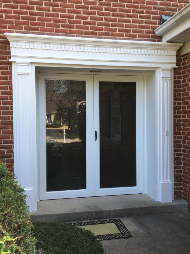 Decorative Front Entry Surround