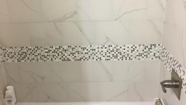 Bathroom Safety Grab Bar Before in Jacksonville