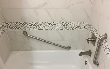 Bathroom Safety Grab Bar After in Jacksonville