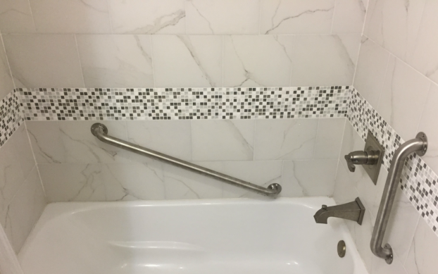 Bathroom Safety Grab Bar After in Jacksonville