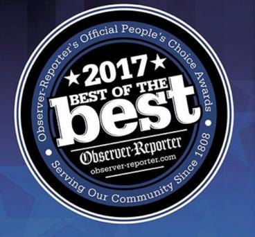 Observer Reporter 2017 Best of the Best