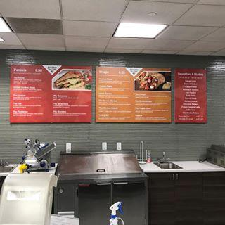 Custom Menu Boards |South Jersey | SpeedPro SJ