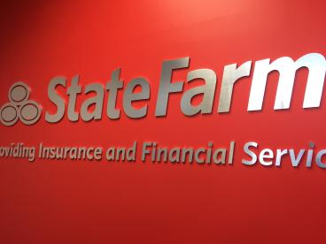 3 Dimensional Letters for State Farm