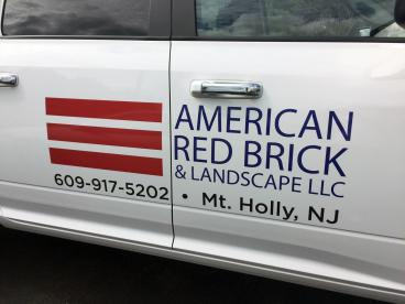 American Red Brick & Landscape Custom Vehicle Graphics Mount Holly New Jersey