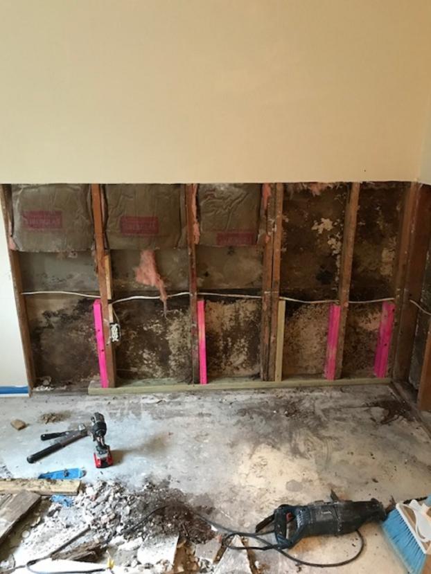 Drywall Repair in Seabrook TX (BEFORE)