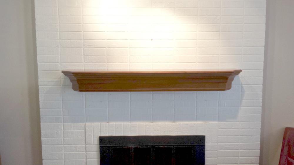 Finished Mantel mounted in Englewood CO 80113