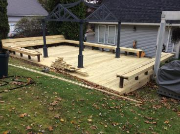 Deck Remodel in Exeter Township