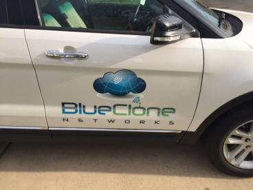 Blue Clone Networks New Jersey Vehicle Decal