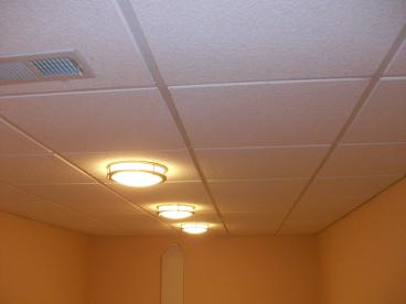 Basement Ceiling Repair in Westerville