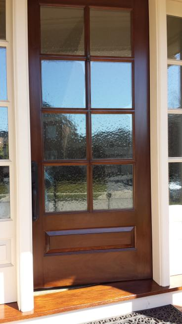 Door Refinishing and Staining in Galena