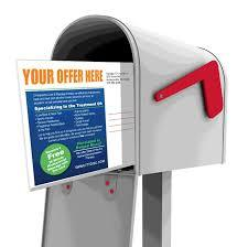 We do direct mail!