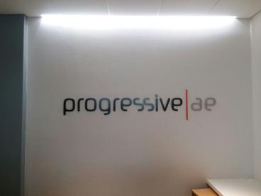 3D Lettering Lettering at Progressive