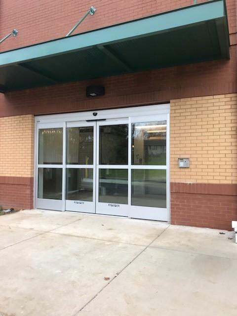 Storage Unit Entrance