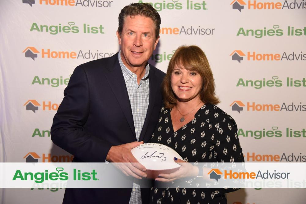 Dan Marino and HMM Dallas Owner Stacy Huston