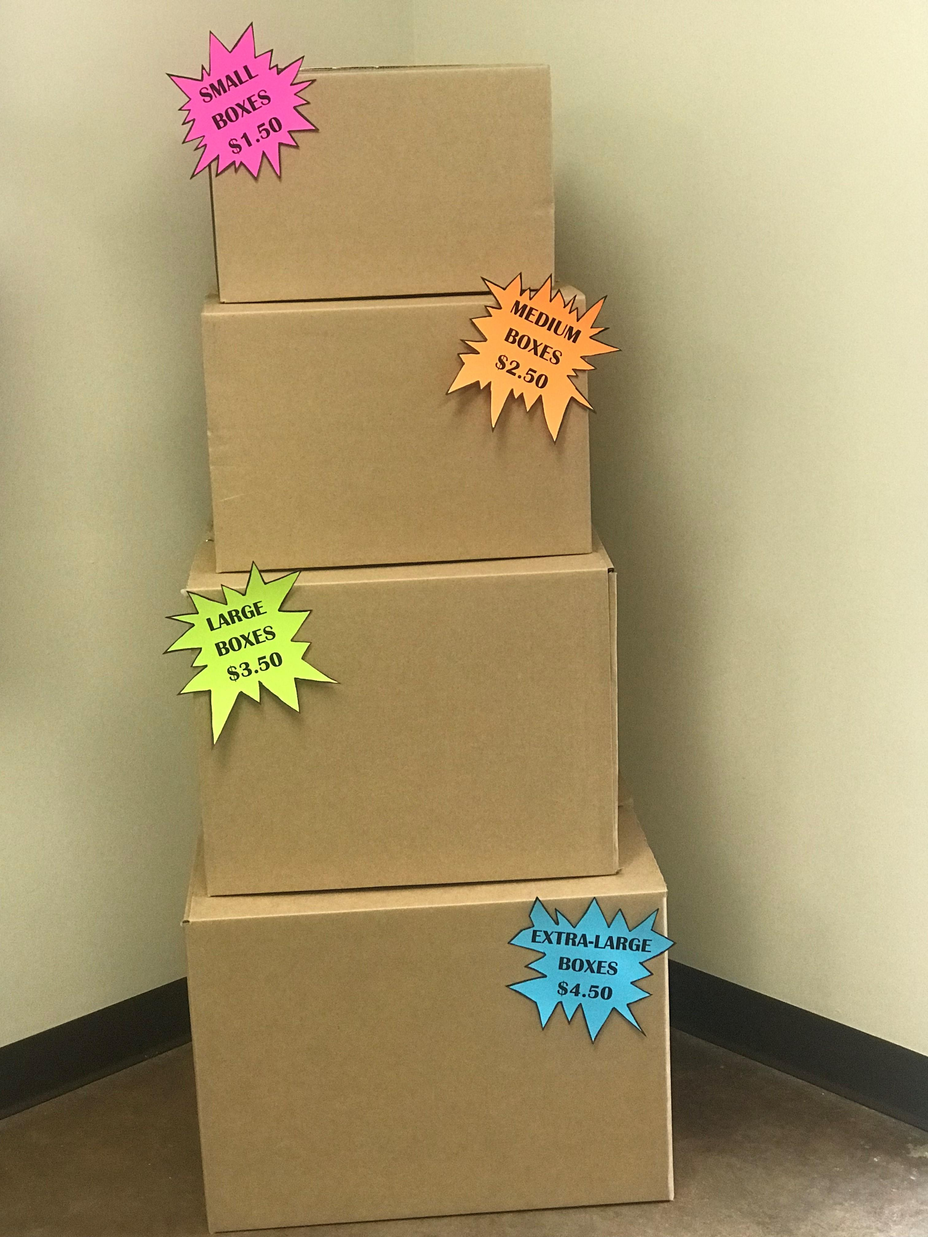 WE SELL BOXES!!