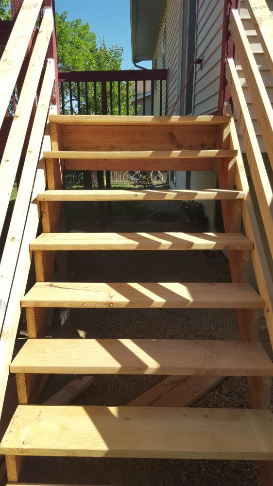 Deck Stairs Replacement 02