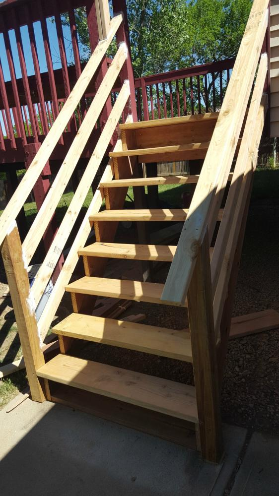Deck Stairs Replacement 01
