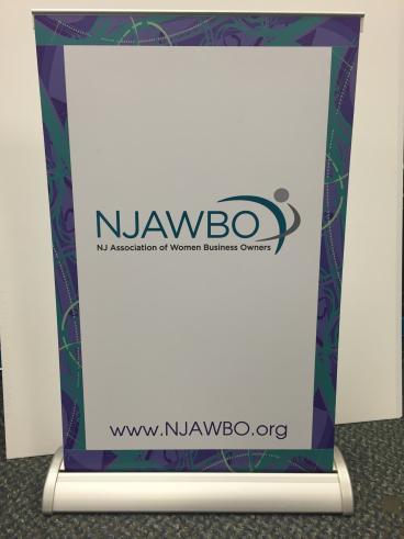 NJAWBO Banner Stand