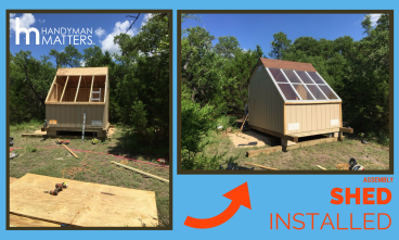 Solar Shed Installed