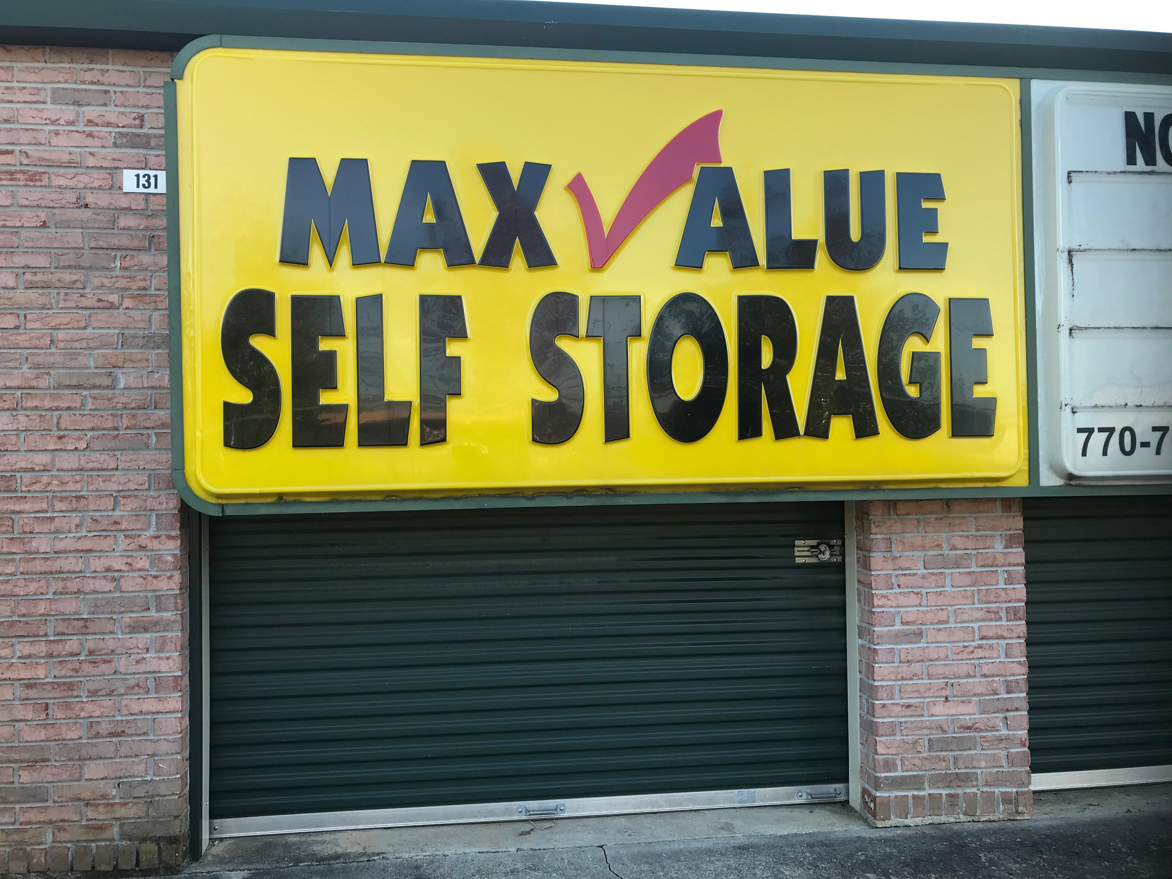 Max Value Self Storage