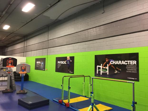 Photo Quality Wall Graphics for Kid Strong of Lexington