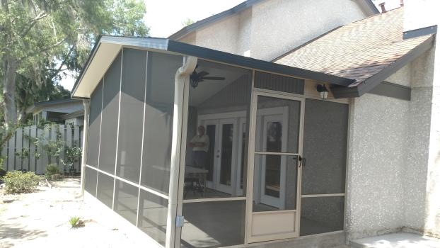 18X10 Gable Screen Room