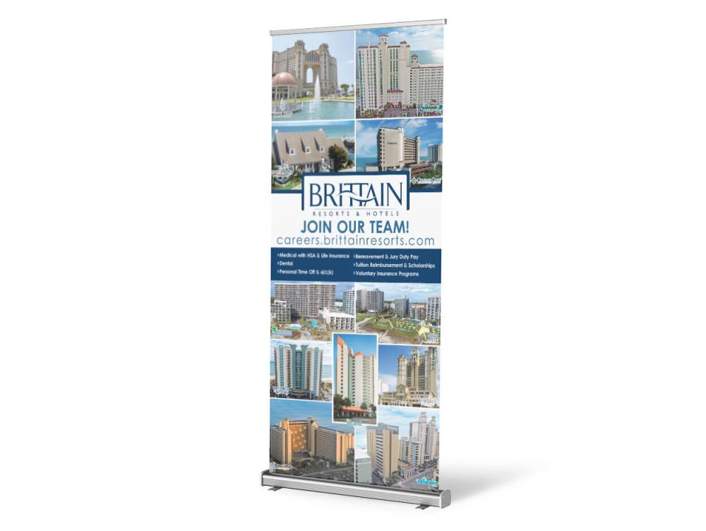 Brittain Retractable Banner