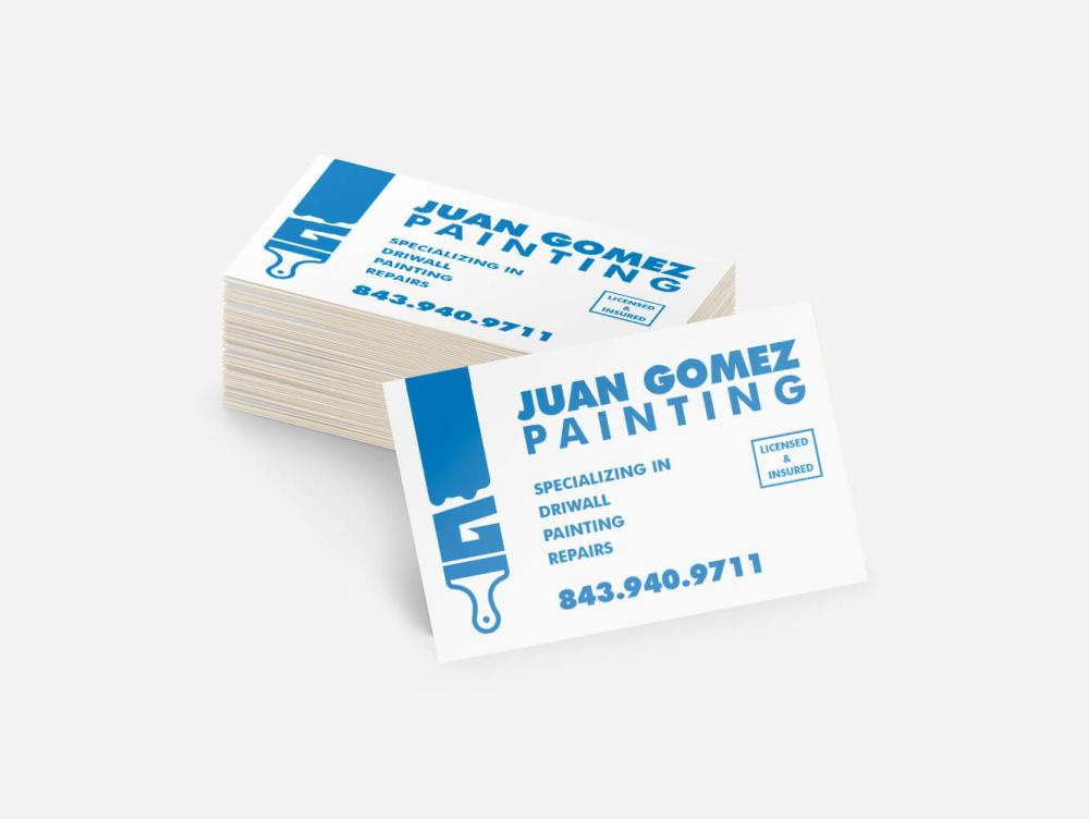 Juan Gomez Painting Business Card