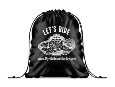 Myrtle Beach Harley-Davidson Drawstring Bag