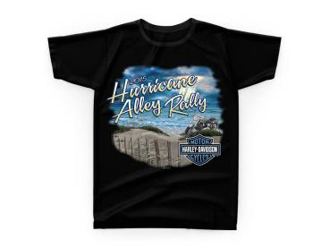 Harley-Davidson 2015 Hurricane Alley Rally T-shirt