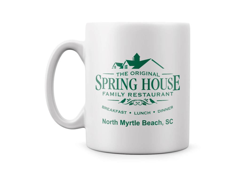 Spring House Restaurant Mug
