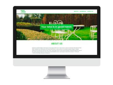 Sweet Grass Lawn & Landscaping Website