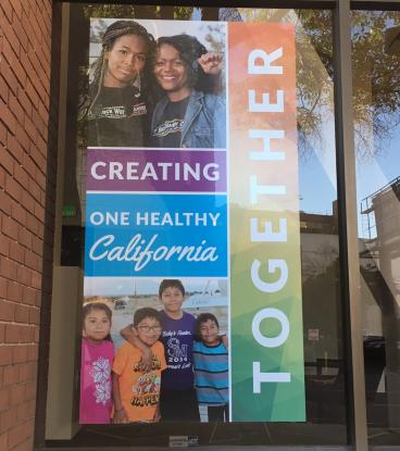 Empowerment Window graphics Oakland