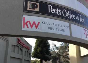 Keller Williams Real Estate Oakland sign
