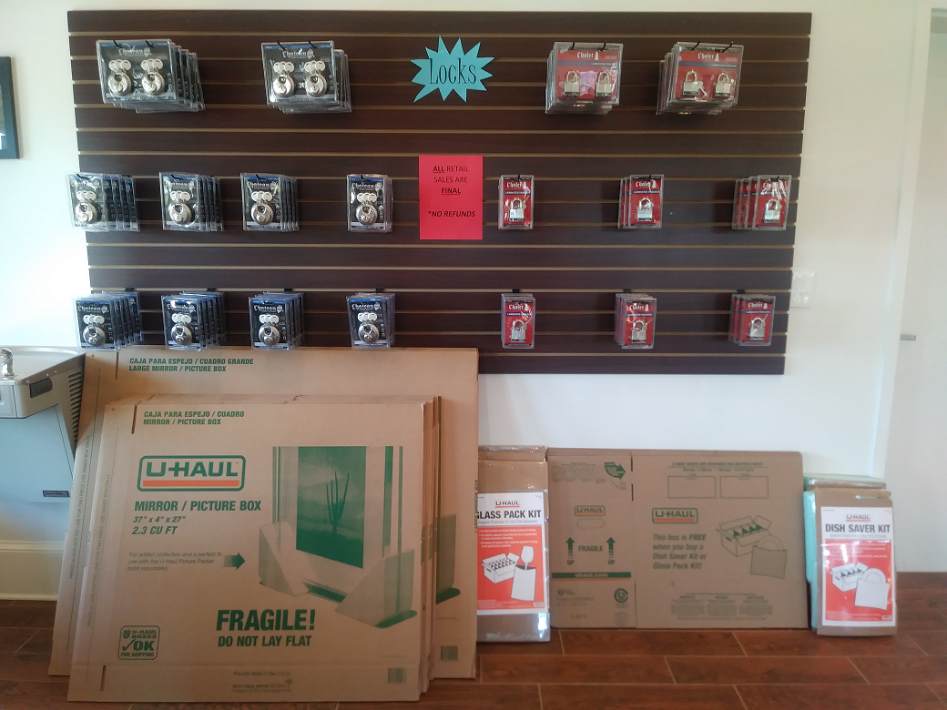 Locks and Assortment of Boxes