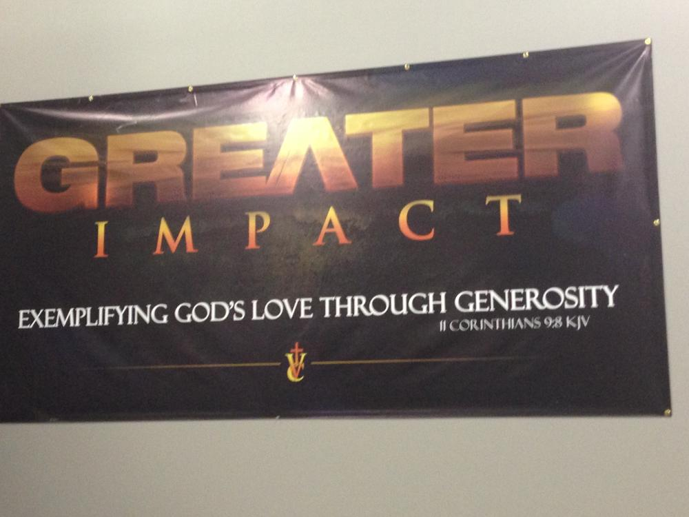 Greater Impact Banner