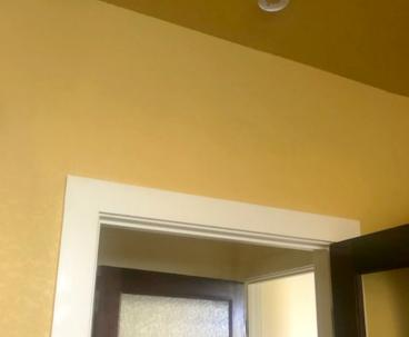 After photo of drywall repair in Roxborough Park, CO