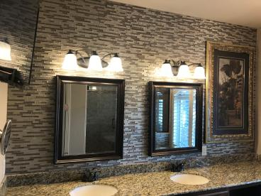 Bathroom Backsplash in Springdale