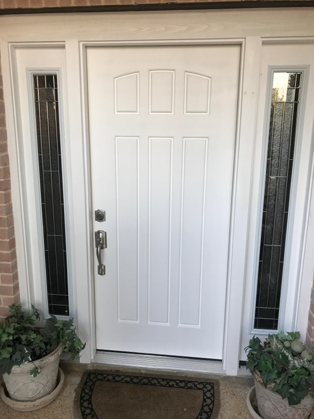New Front Door installed
