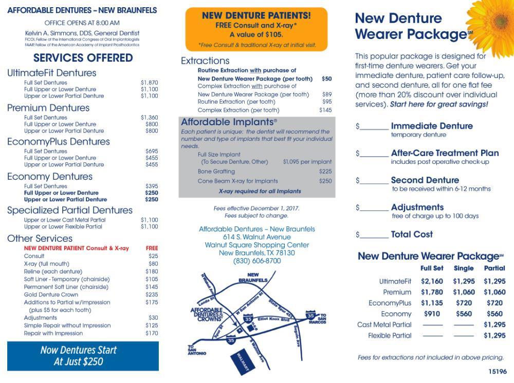 denture care center serving new braunfels tx. Black Bedroom Furniture Sets. Home Design Ideas