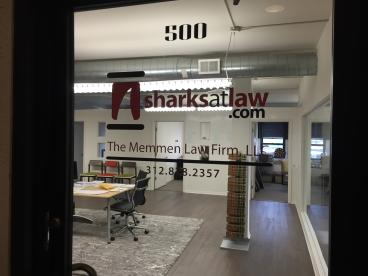 Office Glass Decal