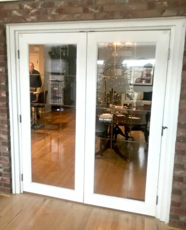 French Doors installed to dining room in  Cherry Hills Village, CO