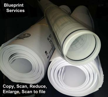 Blueprint and Reprographic services
