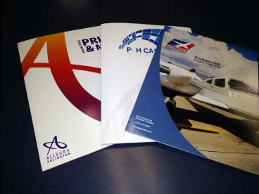 Pocket folder - custom to your business and needs